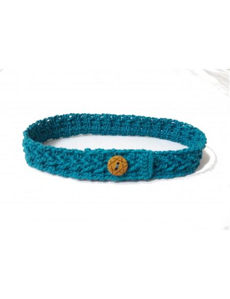 HOONAR Crochet  BLUE COLLAR FOR DOGS