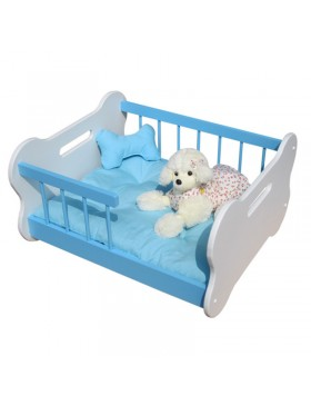 cute blue berry bed (wooden)