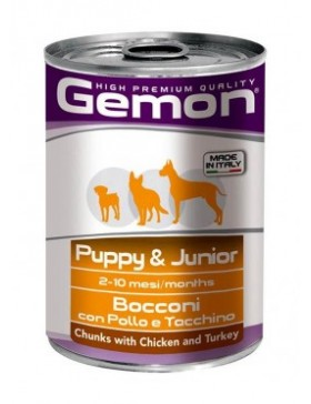 Chunks with Chicken and Turkey – Puppy & Junior